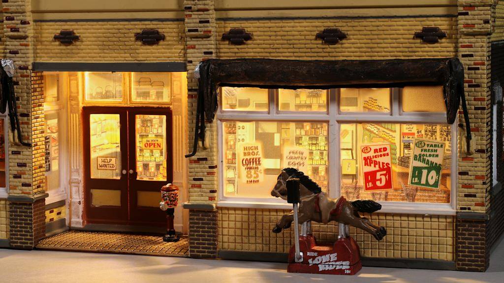 Lighting Woodland Scenics Franku0027s IGA Grocery Store & Easy Model Railroad Structure LED Lighting | Gateway NMRA azcodes.com