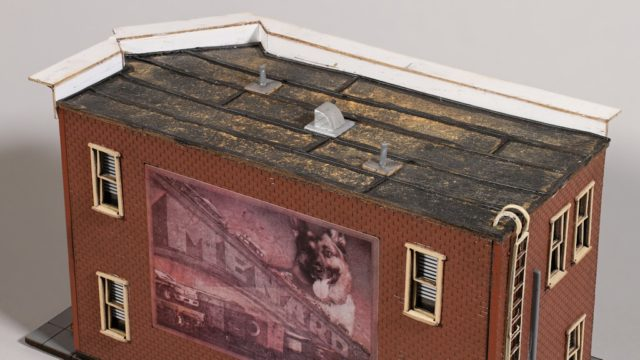 Roof of Menard's HO Scale Hobby Shop