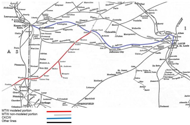 Mexico Train Works Route Map