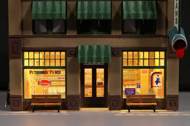 Woodland Scenics Ho Scale Dugan S Paint Store Gateway Nmra
