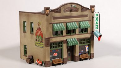 Woodland Scenics HO Scale Dugan's Paint Store