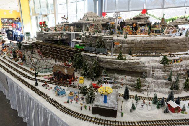 E. Desmond Lee Holiday Train Exhibit