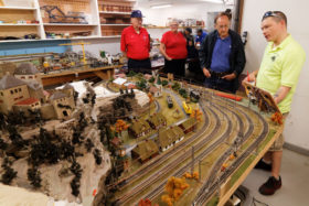 Iron Spike Model Train Museum Display Layouts