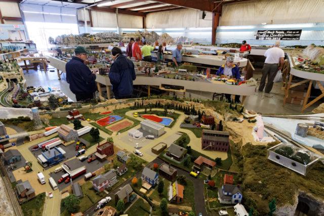 Iron Spike Model Train Museum HO Layout