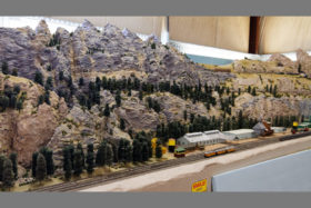 Iron Spike Model Train Museum HO Layout