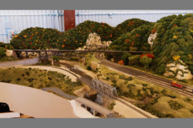 Iron Spike Model Train Museum N Layout