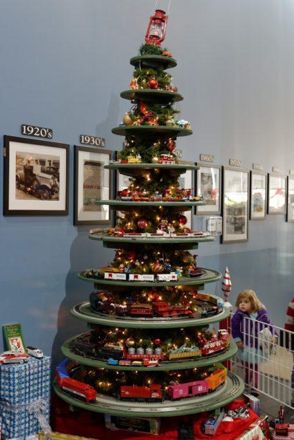 Happy Holidays: The Train Tree