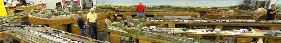 K-10 Model Trains Club Layout