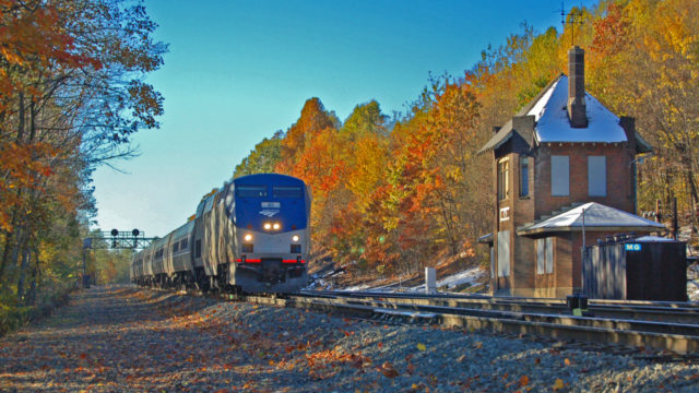 My very most favorite railroad shot. This is at MG, halfway down the mountain between Gallitzin and Altoona, Pennsylvania. It is a couple of miles before the train starts around the world famous Horseshoe Curve. This is a highly desired location for rail photographers visiting the Horseshoe Curve.
