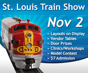 Nov. 2, 2019 St. Louis Train Show Banner