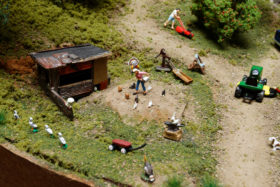 David Bufka's Modern-Era HO Scale Midwest Model Railroad