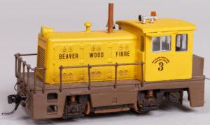 Beaver Wood Fiber Diesel Locomotive