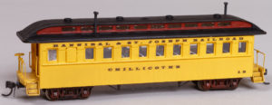 Hannibal & St. Joseph Railroad Coach