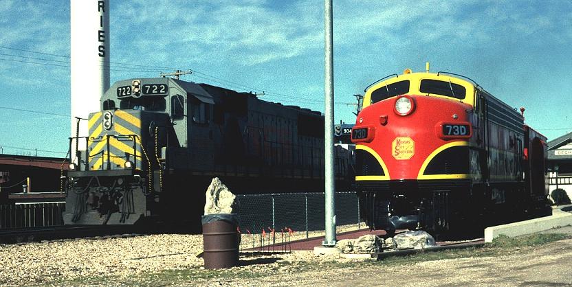 Kansas City Southern Railfan Guide