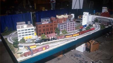 Construction of the 2001 Model Railroader Magazine Railroad Layout