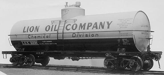 Prototype Lion Oil Tank Car