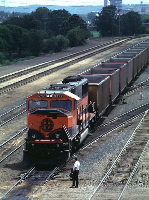 BNSF Coal Train, Kevin Hampton