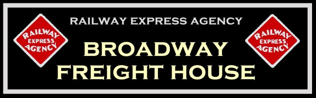 Final artwork for the Broadway Freight House sign.