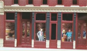 """Design Preservation Models (DPM) """"Front Street"""" 243-120"""