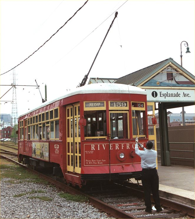 New Orleans Riverfront Line Streetcar
