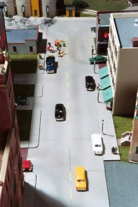 The street system is a major structure in its own right.