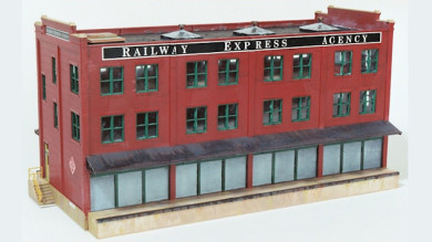 """Walthers Cornerstone """"Railway Express Agency"""" Assembly Tips and Techniques"""