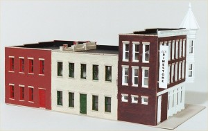 "Walthers Cornerstone ""Merchant's Row II"" 933-3029"