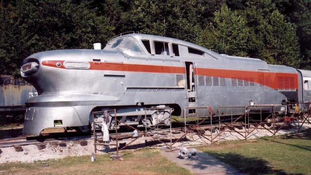 Rock Island Aerotrain Restoration