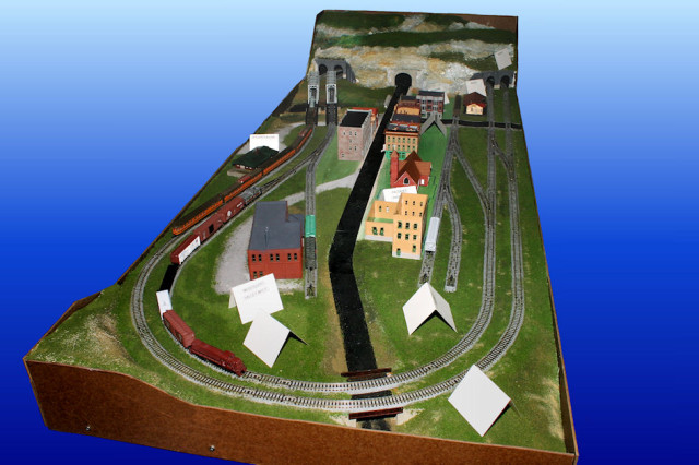 Gateway Central XI N Scale Model Railroad Layout