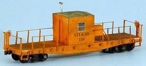 STL&BE #134 Transfer Caboose