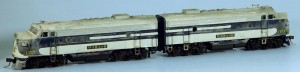 Wabash #1157 Diesel Locomotive