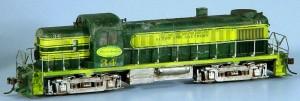 Alton & Southern #34 Diesel Locomotive
