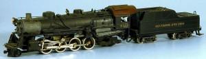 Baltimore & Ohio #4312 2-8-2 Steam Locomotive