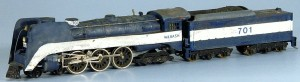 Wabash #701 4-6-4 Steam Locomotive