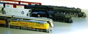Closeup of Whole Train Contest Entries