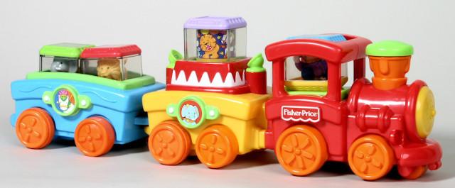 Press & Go Train by Fisher-Price