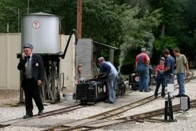 Wabash, Frisco & Pacific Live Steam Railroad Train Picnic 2008