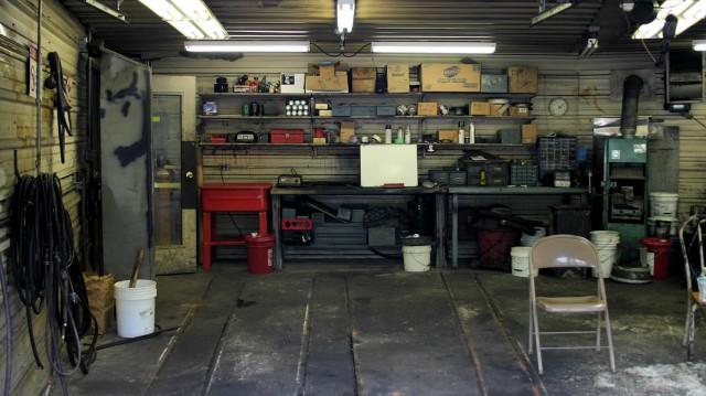 Workshop Interior, Glencoe, Missouri
