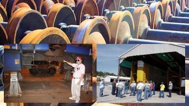 Tour of Union Pacific Railroad DeSoto Car Shops