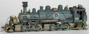 2-6-6-2 #153 Steam Locomotive