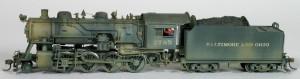 B&O #2785 2-8-0 Steam Locomotive