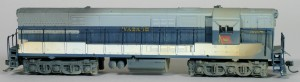 Wabash #558 Diesel Locomotive