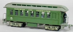 Tonopah & Tidewater Passenger Car