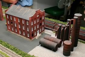 Bob Buschart's CB&Q-AT&SF HO Scale Model Railroad