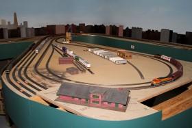 Litchfield Train Group HO Model Railroad Layout