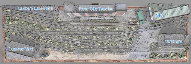 Structure placement on the Gateway Central XV layout