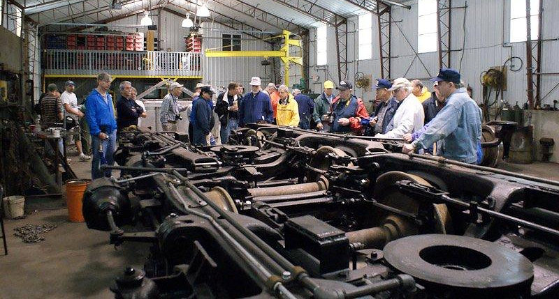 Photo from the 2010 Gateway Rail Services tour.