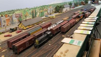 Bob Johnson's Pseudo-Soo Line HO Scale Model Railroad Layout
