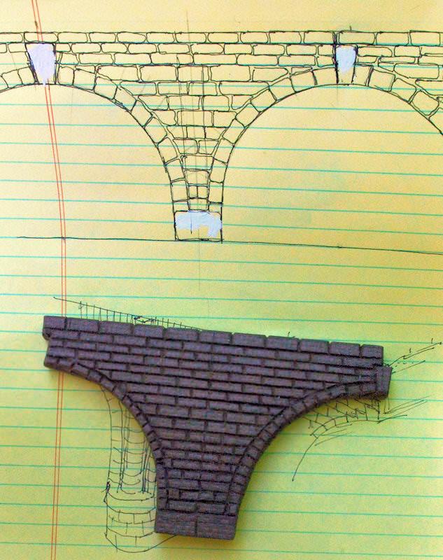 Scratch Building a Stone Arch Viaduct