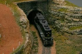 Paul Fries' Red Board Hobbies Model Railroad